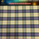 Hilado de nylon teñido de tela de spandex con ácaros anti-polvo para la camisa