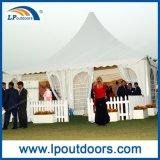 Anunciando a barraca do pavilhão da promoção ao ar livre, barraca do evento, barraca do Pagoda