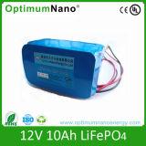 Batterie au lithium-ion lithium rechargeable à base de lumière solaire 12V10ah