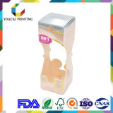 Vente en gros de haute qualité de l'art cubique Emballage Boîte pliante pour Cc Cream Gold Hot Stamping Logo Surface brillante