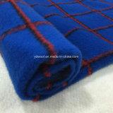 Почищенная щеткой ткань шерстей проверки для шинели