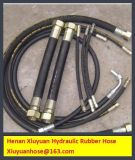 Boyau hydraulique de spirale en caoutchouc à haute pression superbe de boyau