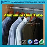 Perfil de aluminio de aluminio de la protuberancia para el tubo Rod redondo oval del guardarropa