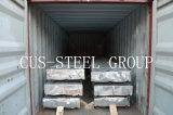 La plaque d'appui gauche en métal de Gi de GV Djibouti/a ridé la feuille en acier de toit