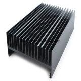 Radiateur en aluminium de profil de qualité avec la couleur noire anodisée