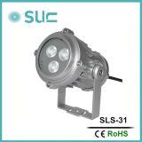 lumière de jardin du projecteur DEL de 9W DEL pour IP65 extérieur (SLS-22A)