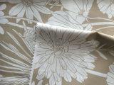 Tela impressa flor do tafetá do poliéster para revestimentos das mulheres para baixo