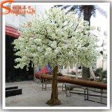 Вал цветения вишни домашней стеклоткани декора белый искусственний