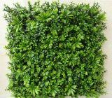 Panneau des plantes artificielles de conception récente Décoration du rideau suspendu mural vert