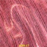 Couro artificial da parte superior de sapata do plutônio de Matallic para a sandália do `S da senhora
