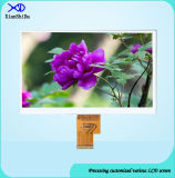 HD 7 인치 LCD 전시 화면 Lvds 공용영역