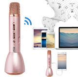 Mini microphone commode élégant sans fil portatif Ss-K088 de karaoke de Bluetooth