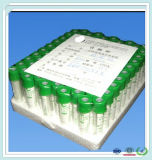 Glashaustier-Ebenen-medizinisches Laborversuch-Gefäß kein Zusatz