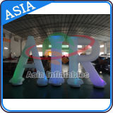 대중적인 광고 팽창식 훈장, 팽창식 조명 편지, LED 전구를 가진 알파벳