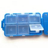 Recordatorio digital de la caja de la píldora con la alarma de 5 grupos