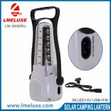 USB 비용을 부과 및 FM 라디오를 가진 재충전용 LED 야영 빛