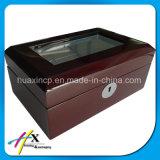 Luxury Custom Lacado Relojes de Caja de Embalaje, Caja de Madera