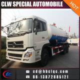 Dongfeng 6X4 16m3 18m3 Abwasser-Fahrzeug-Vakuumbecken-Abwasser