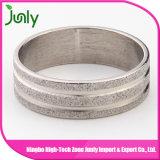 2016 últimos diseños del anillo del acero inoxidable para las muchachas