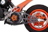 Motocicleta de competência elétrica de venda quente com Meados de-Motor
