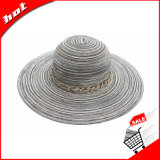 Chapéu flexível do verão do chapéu de Sun do chapéu do chapéu das mulheres