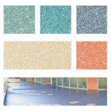 Pavimentazione di laminazione commerciale omogenea del PVC in rullo