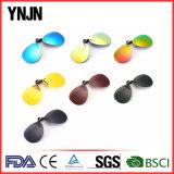 Grampo real relativo à promoção do revestimento de Revo em óculos de sol
