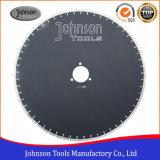 Od600mm het Laser Gelaste Blad van de Zaag voor Scherp Graniet