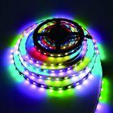 Striscia di External CI SMD5050 RGB LED della trasmissione continua Ws2818 di punto di rottura del segnale
