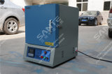 (36Liters) 1700c Ceramic Fiber Muffle - oven Heated door Mosi2 Rods