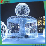 Luces de hadas de la cadena de la luz de la cadena del hotel de la decoración de la Navidad