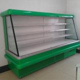 Showcase Refrigerated do gabinete de indicador dos vegetais do supermercado