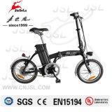 까만 250W 24V 리튬 건전지 소형 Foldable E 자전거 (JSL016A-2)