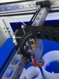Double Nozzle 0.02mmprecision Allcct Impressora 3D industrial de tamanho grande
