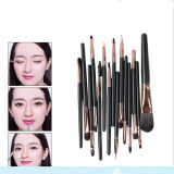 15PCS Eyeshadow Eyeline Sourcils Cosmetic Kits d'outils pinceau de maquillage