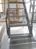 Покрашенные или гальванизированные светлые лестницы стальной структуры