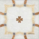 Mattonelle di pavimentazione di ceramica della porcellana Polished piena di marmo