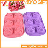 Прессформа торта прессформы шоколада подноса/силикона кубика льда формы цветка Rose силикона