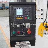 Máquina del CNC para el acero QC12-4X3200 E21 del metal de hoja de corte