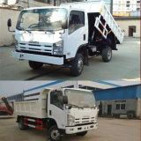 Isuzu 4X2販売のための2台のトンから4つのトンの小型ダンプトラックのダンプカートラック