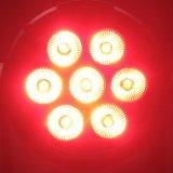 Osram 7X10W 4in1 5in1 6in1를 가진 옥외 LED 동위 빛