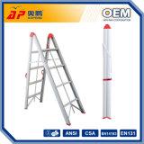 Het Systeem van Scafolding van het aluminium met Plastic Ladder ap-2614 van het Dienblad