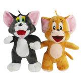 OEM 견면 벨벳 장난감 톰과 제리 만화 장난감 견면 벨벳 장난감