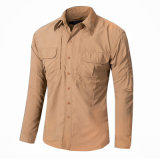 Рубашка втулки способа типа лета 511 Quick-Dry длинняя