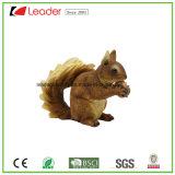 Statua diritta di Polyresin dello scoiattolo decorativo di Caldo-Vendita per gli ornamenti del giardino