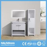 Spezieller moderner Fußboden - eingehangenes Badezimmer-Zusatzgerät mit seitlichem Schrank (BF385D)