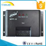 Mppt-10 PV van de Regelgever van het zonnepaneel 10A de AutoBatterij van het Controlemechanisme 12V 24V