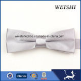 (BSS7-12) Hand Made 100% Polyester Woven Fashion Bowtie