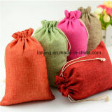 Eco Freindly Sac de jute à cordes promotionnel Jute Gunny Bag Occasion Jute Sack Wholesale