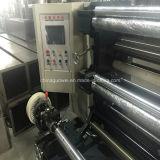Película automática del control del PLC que raja y máquina el rebobinar